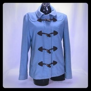 Vintage GAP Women's Blue Pea Coat MED